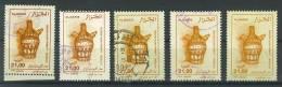 VEND TIMBRES D ´ ALGERIE N° 1098 X 5 NUANCES DIFFERENTES !!!! - Algerije (1962-...)