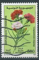 VEND TIMBRE DE TUNISIE N° 1368 + VARIETE : TACHES BLANCHES !!!! - Tunesien (1956-...)