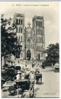 Hanoi - La Sortie De La Messe à La Cathédrale  N° 45 - Viêt-Nam