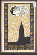 FRANKFURT 10 MAI 1911 - FRIEDENSFEIER KORNBLUMENTAG 1911 - OFF. POSTKARTE No 1 - LITHO  - TB - Frankfurt A. Main