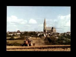 44 - CARQUEFOU - Le Domaine De Carquefou - Constructeurs - Carte Publicitaire - Tracteur - Carquefou