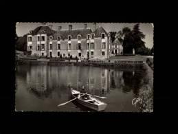 44 - CARQUEFOU - Centre Hospitalie De Nantes - Hôpital De La Seilleraye - Le Château Et L'Etang - 5 - Carquefou