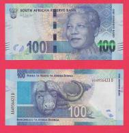 SOUTH AFRICA 2011 MANDELA 100 RAND NOTE (crispy New, Straight From The Bank) COLLECTORS ITEM - Zuid-Afrika