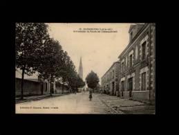 44 - CARQUEFOU - Arrivée Par La Route De Châteaubriant - 12 - Carquefou