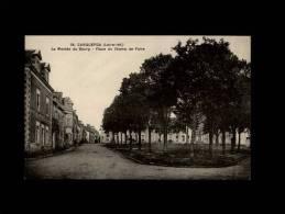 44 - CARQUEFOU - La Montée Du Bourg - Place Du Champ De Foire - 38 - Carquefou