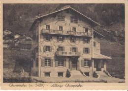 Aosta - Champorcher (m. 1427) - Albergo Camporcher - Aosta