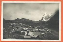 Q162, Mürren, Circulée 1940, Timbre Décollé - BE Bern