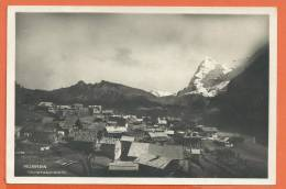 Q162, Mürren, Circulée 1940, Timbre Décollé - BE Berne