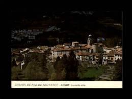 04 - ANNOT - Chemins De Fer De Provence - La Vieille Ville - Autres Communes
