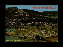 04 - CHATEAU-ARNOUX - Lac De L'Escale - Camping - France