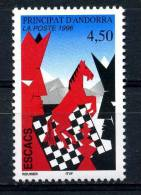 ANDORRA 1996 Chess  Yvert Cat. N° 477  Absolutely Perfect MNH ** - Chess