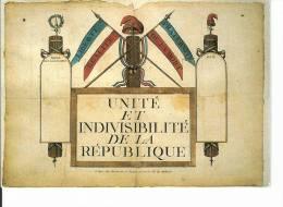 (Reproduction D´affiche Placée Dans Entrées D'immeuble 1793) - Events