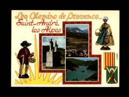 04 - SAINT-ANDRE-LES-ALPES - Station Touristique - France