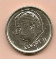 1 Franc Belge Albert II De 1995 - 1993-...: Albert II