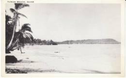 Guam, Tumon Beach Scene On C1940s/50s Vintage Postcard - Guam