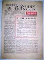 """Lot De 4 Journaux - """"Ceux De La Terre"""" - En 1943. - Newspapers"""