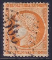 RARE ´4´ Retouché Sur 40c Siège Aspect TB (Y&T N° 38d, Case 146, 200€) - 1870 Siège De Paris