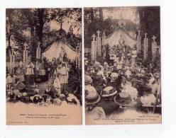 70 - Gray 2 Cartes Sur Les Fêtes Du Couronnement Du 16 Mai 1909 - Gray