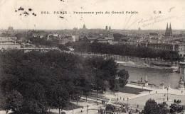 PARIS PANORAMA VUE DU GRAND PALAIS - Francia
