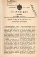 Original Patentschrift - W. Balassa In Wien , 1906 , Halteapparat Für Telephon - Hörmuscheln !!! - Telefontechnik