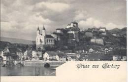 5289 - Gruss Aus Aarburg - AG Argovie