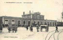 44 CHATEAUBRIANT SORTIE DE LA GARE - France