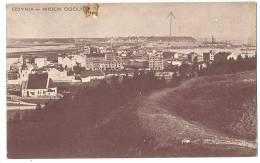 GDYNIA Widok Ogólny Town View  (spot On Top Visible On Scan) Sent 1935 - Polen