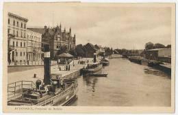 BYDGOSZCZ Przystan Na Brdzia Ships Waiting Sent 1936 - Pologne