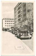 OLD CARS In WARSZAWA Real Photo Sent 1951 - Polen