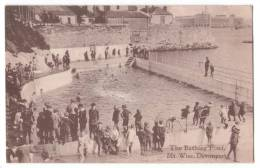 England - Plymouth - Devonport - Mount Wise - Bathing Pond  - Not Used - 1910s - Plymouth