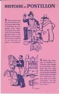 Buvard Histoire Du Postillon 3+4 Rose - Buvards, Protège-cahiers Illustrés