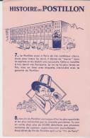 Buvard Histoire Du Postillon 7+8 Rose - Buvards, Protège-cahiers Illustrés