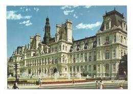 Cp, 75, Paris, L'Hôtel De Ville - Unclassified