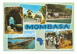 Cp, Kenya, Mombasa, Multi-Vues, écrite - Kenya