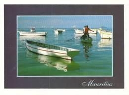 Cp, Maurice, Vue De Cap Malheureux, Au Loin, L'Ile Ronde, écrite - Mauritius
