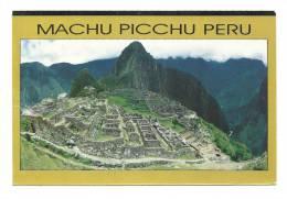 Cp, Pérou, Cusco, Vista Panoramica De Machu Picchu, Voyagée - Pérou