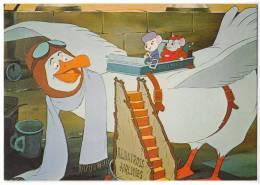 DISNEY OTHER WALT DISNEY CARTOON CHARACTERS THE RESCUERS Nr. 122-4262 OLD POSTCARD - Disney