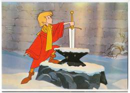 DISNEY OTHER WALT DISNEY CARTOON CHARACTERS THE SWORD IN THE STONE Nr. 116-3383 OLD POSTCARD - Other