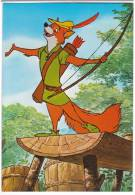 DISNEY OTHER WALT DISNEY CARTOON CHARACTERS ROBIN HOOD Nr. 121-3715 OLD POSTCARD - Disney