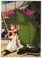 DISNEY OTHER WALT DISNEY CARTOON CHARACTERS THE RELUCTANT DRAGON Nr. 111-4388 OLD POSTCARD - Disney