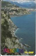 SWITZERLAND - Coast, Multicards Prepaid Card 10 CHF(No 109), Tirage 10000, Used - Suiza