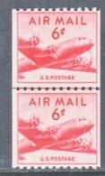 U.S. C 41 X 2  LINE PAIR    * - 2b. 1941-1960 Unused