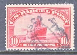 U.S. Q 6  (o)   PAQUET  BOAT PRINZE  WILHEIM - Parcel Post & Special Handling