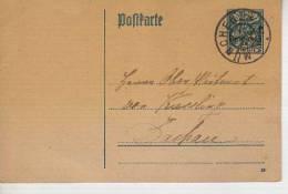BAVIERA  ENTERO POSTAL KÖNINGREICH MUNCHEN 1926 POSTKARTE  ALEMANIA   OHL - Ganzsachen