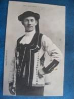 CP....JEUNE HOMME DE PONTIVY..DOS SIMPLE..1902 - Pontivy