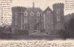 HUY  Chateau D'AHIN  ACP  écrite + Timbre  1902   Voir Scans - Huy