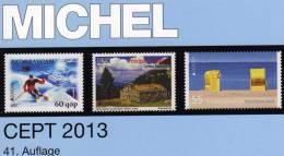 Stamps MlCHEL Katalog CEPT 2013 New 52€ Mit Jahrgangstabelle Von Europa Vorläufer NATO EFTA KSZE EU Symphatie-Ausgaben - Books, Magazines, Comics