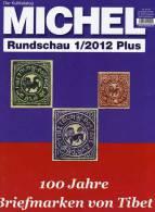 MICHEL Briefmarken Rundschau 1plus /2012 Neu 5€ New Stamps Of The World Catalogue And Magacine Of Germany - Non Classificati
