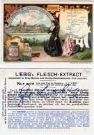 LIEBIG'S Fleisch - Extract - Contour Géographique  (49373 ) - Liebig