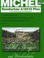 MICHEL Briefmarken Rundschau 4plus /2012 Neu 5€ New Stamps Of The World Catalogue And Magacine Of Germany - Non Classificati